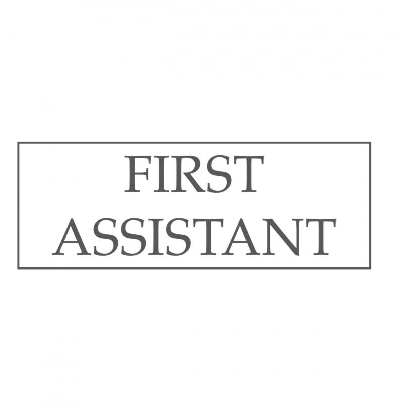 First Assistant